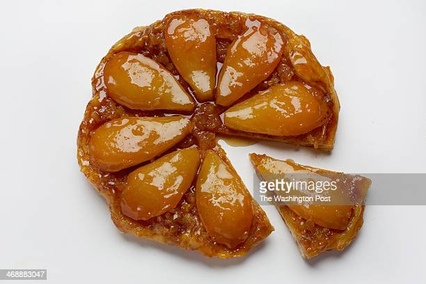 Easy MakeAhead Pear Tarte Tatin photographed in Washington DC Photo by Deb Lindsey/For The Washington Post via Getty Images