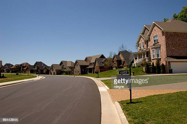 easy street - new homes - tennessee stock pictures, royalty-free photos & images