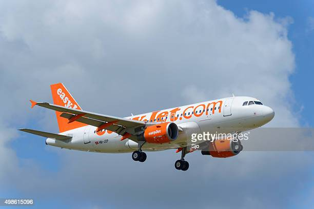 EasyJet Airline Airbus A319 airplane