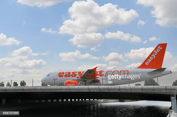 Easyjet on a bridge