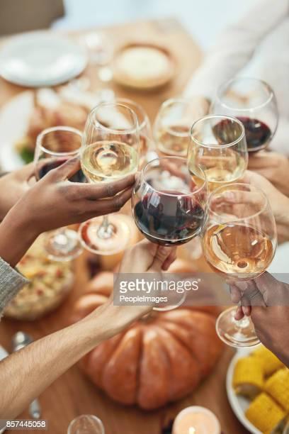 Eten drinken en vrolijk
