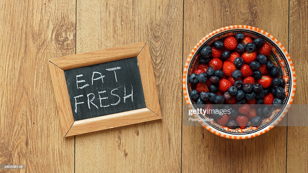 eat fresh : Stock Photo