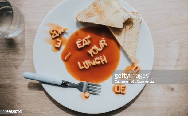 eat your lunch - spaghetti stock pictures, royalty-free photos & images