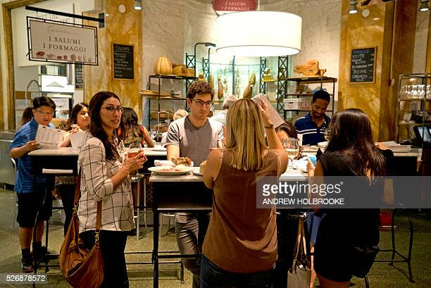 Eataly is a highend Italian food market/mall chain comprising a variety of restaurants food and beverage stations bakery and retail items Eataly was...