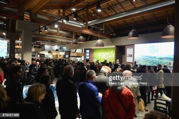 Eataly World Agri Food park Opening Day on November 15 2017 in Bologna Italy