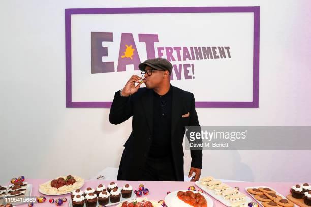 EATertaining Cadbury Creme Egg super fan Ian Wright launches Cadbury Creme Egg EATertainment Live on January 23 2020 in London England
