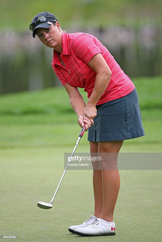 CN Canadian Women's Open - Round One : News Photo