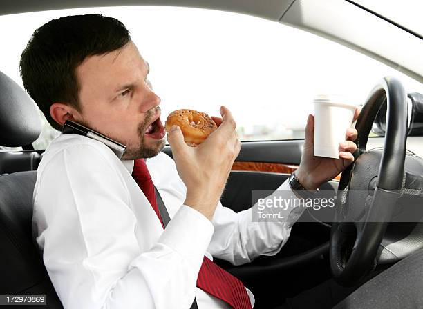 eating, calling, drinking, driving
