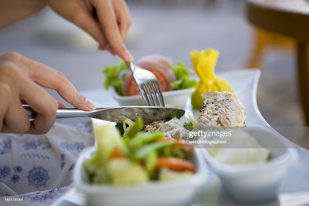 Eating : Stock Photo