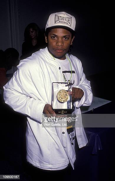 EazyE of NWA attends Los Angeles Music Awards on February 19 1992 at the Santa Monica Civic Auditorium in Santa Monica California
