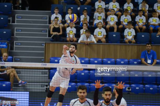Ebadipour Ghara H.Milad, Iran, serve during Iran vs Puerto Rico, pool D, during 2018 FIVB Volleyball Men's World Championship Italy-Bulgaria 2018,...