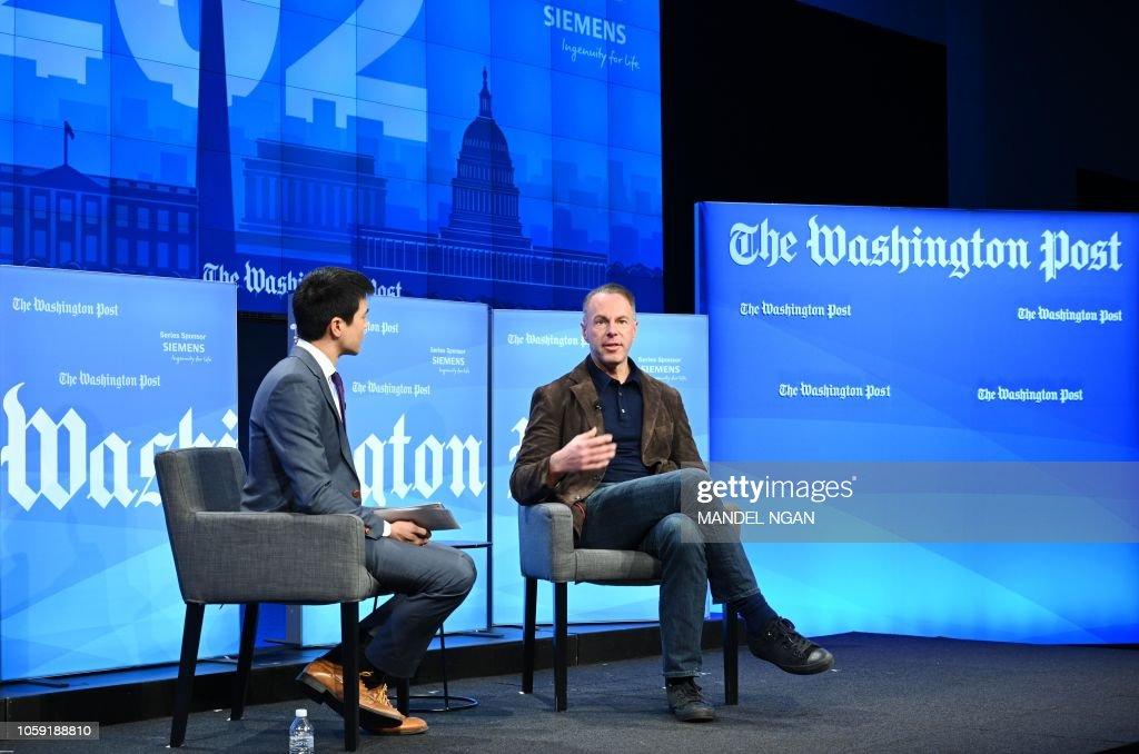 eBay CEO Devin Wenig speaks with Washington Post technology