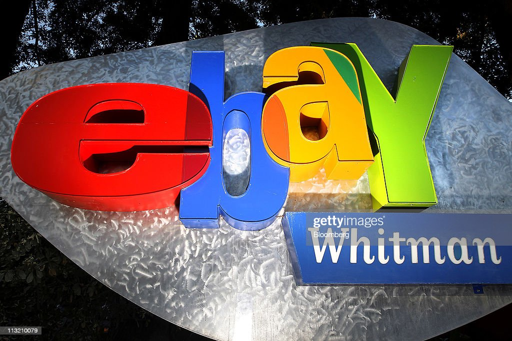 Ebay Inc Signage Is Displayed At Company Headquarters In San Jose News Photo Getty Images