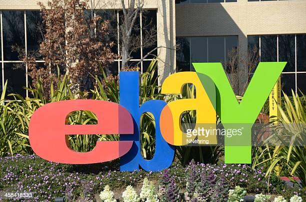 ebay logo sign - ebay stock pictures, royalty-free photos & images