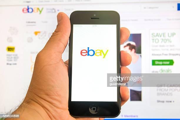 ebay (イーベイ)で画面 - ebay ストックフォトと画像