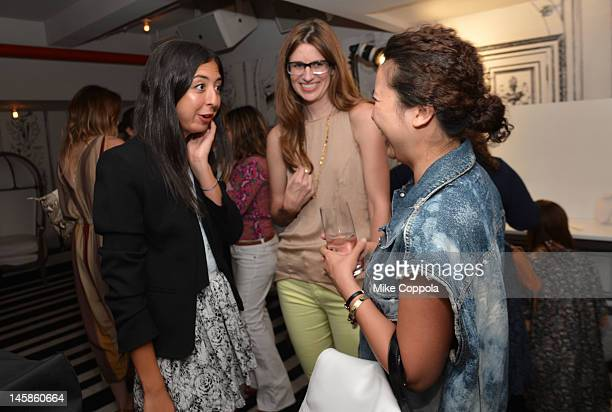 eBay partners with celebrity and fashion stylist Danielle Nachmani to mark the launch of their new simplified selling experience on June 6 2012 in...
