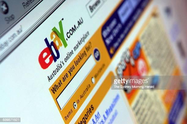 EBay Website ebaycomau 5 June 2003 SMH Picture by NICOLE EMANUEL