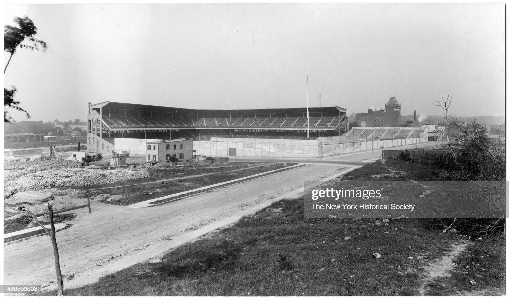 Ebbets Field Grandstand : News Photo