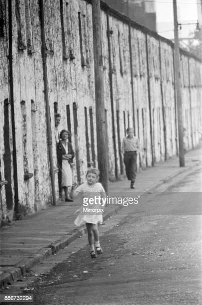 Ebbw Vale, Blaenau Gwent, Wales. September 1960.