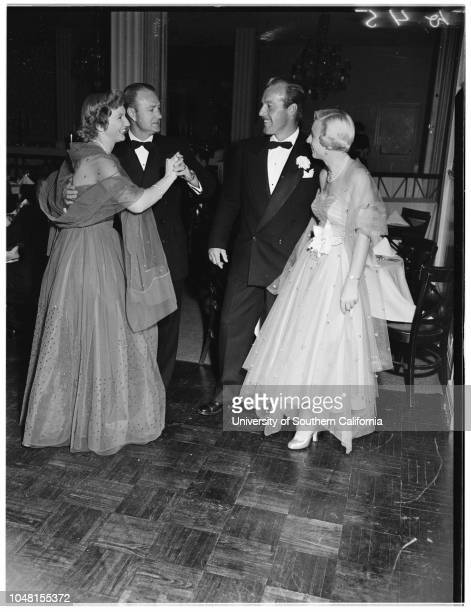 Ebellita Ball 11 November 1951 Mr and Mrs John W KenneyMel GustafsonMrs A YoungbloodMr and Mrs Edward PozzoMr and Mrs Aldo CasarettoMr and Mrs SL...