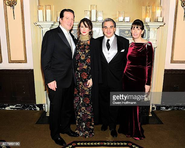 Eben Dorros Elizabeth Dorros Gabriel Kreuther and Patricia Kreuther attend The 19th Annual Food Allergy Ball Benefiting Food Allergy Research...