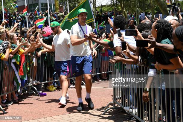 Eben Etzebeth during the Rugby World Cup 2019 Champions Tour on November 07 2019 in Gauteng South Africa