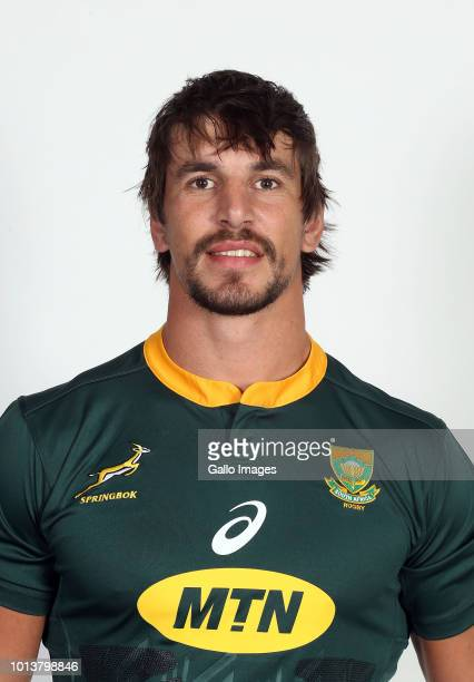 Eben Etzebeth during the Springbok Photocall session at Stellenbosch Academy of Sport on August 09 2018 in Stellenbosch South Africa
