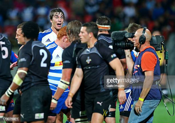 Eben Etzebeth of the DHL Stormers during the Super Rugby match between Southern Kings and DHL Stormers at Nelson Mandela Bay Stadium on July 06 2013...