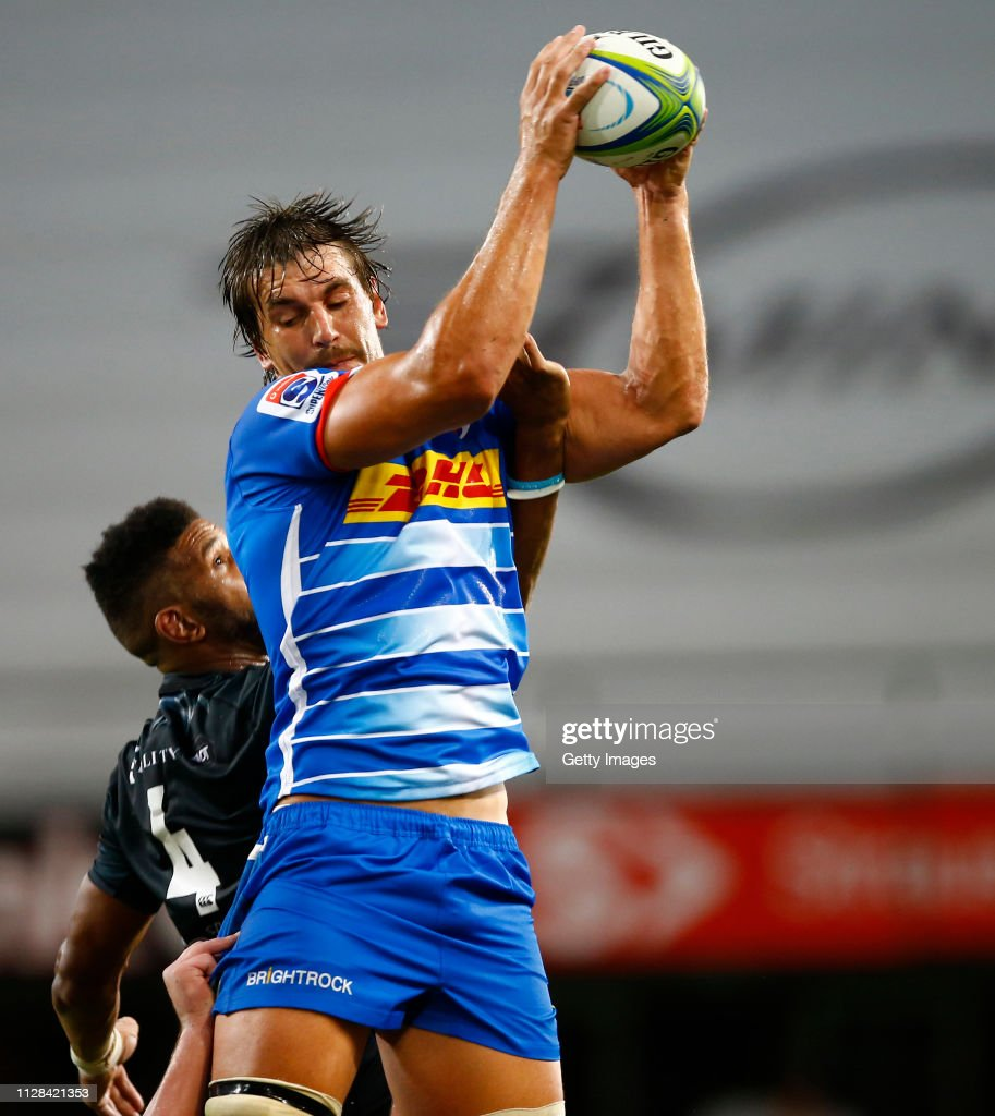 Super Rugby Rd 3 - Sharks v Stormers : News Photo
