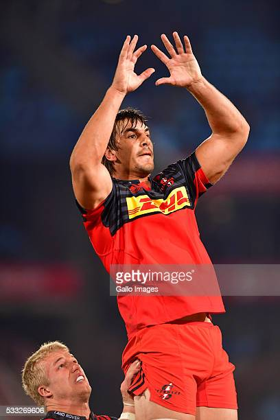 Eben Etzebeth of the stormers during the Super Rugby match between Vodacom Bulls and DHL Stormers at Loftus Versfeld on May 21 2016 in Pretoria South...