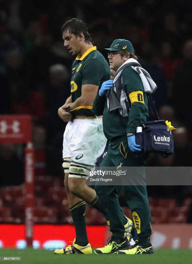 Wales v South Africa - International Match : News Photo