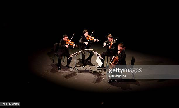 Ebene the highly appraised young French string quartet plays the opening concert of the 108th season of the Coleman concerts at CalTech's Beckmann...