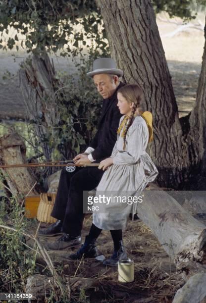 PRAIRIE Ebenezer Sprague Episode 3 Air Date Pictured Ted Gehring as Ebenezer Sprague Melissa Gilbert as Laura Elizabeth Ingalls Wilder Photo by Ted...