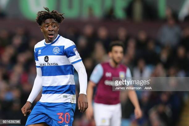 Eberechi Eze of Queens Park Rangers during the Sky Bet Championship match between Aston Villa and Queens Park Rangers at Villa Park on March 13 2018...