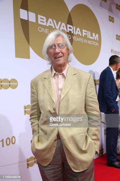 Eberhard Schoener during the Bavaria Film Reception One Hundred Years in Motion on the occasion of the 100th anniversary of the Bavaria Film Studios...