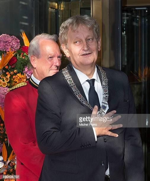 Eberhard van der Laan attends festivities marking the final celebrations of 200 years Kingdom of The Netherlands on September 26, 2015 in Amsterdam,...