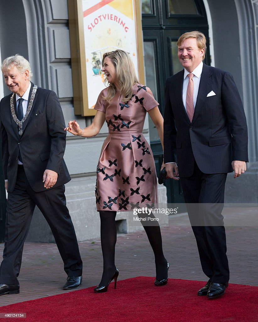Dutch Royal Family Attends Final Celebrations 200 Years Kingdom Of The Netherlands : Nieuwsfoto's