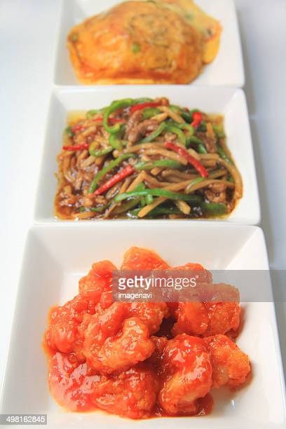ebi chili (stir-fried shrimp in chilli sauce) - chilli crab stock photos and pictures