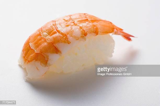 Ebi nigiri (with king prawn)
