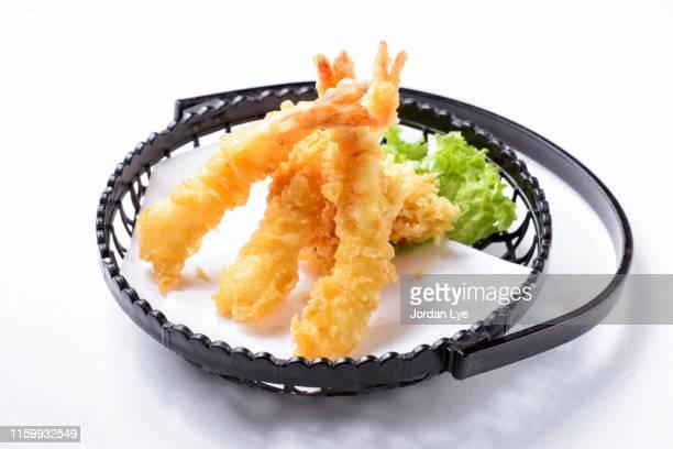ebi tempura - 天ぷら ストックフォトと画像
