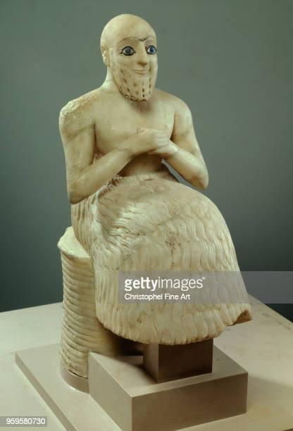 ebihil temple of isthar mesopotamia middle euphrates alabaster Oriental Art Louvre Museum East Mesopotamia