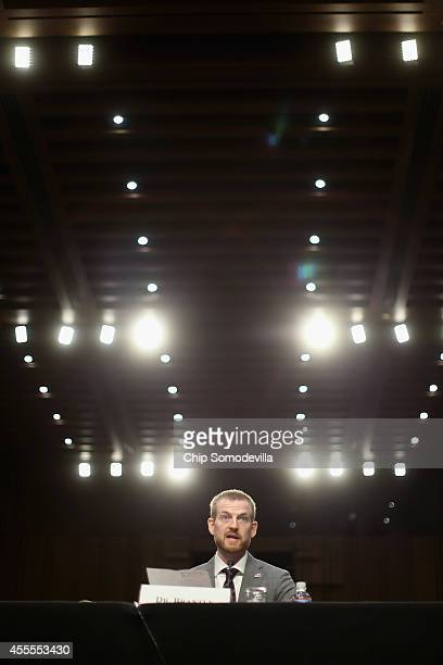 "Ebola survivor Dr. Kent Brantly testifies before the Senate Health, Education, Labor and Pensions Committee on ""Ebola in West Africa: A Global..."