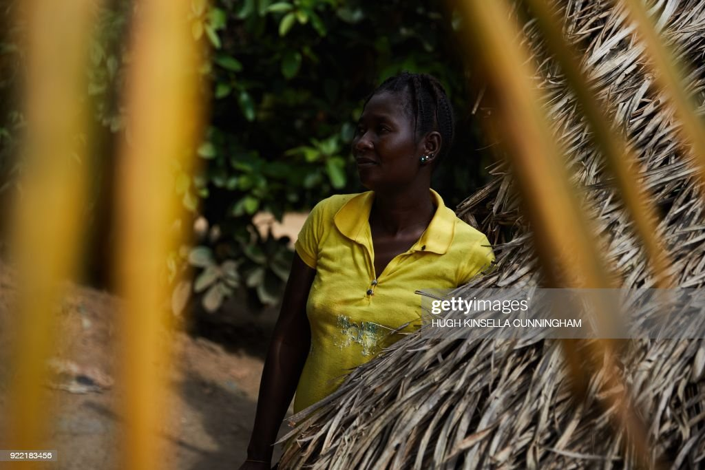 Ebola survivor Tannah B. Kamara, 29, poses in Mawah, Bong County on November 11, 2017 after losing six members of her family including her son to the virus. The devastating effect of Ebola on Liberia's fragile health system may have killed more people than the virus itself, a new study says, many of them pregnant women and malaria patients. The West African nation was the worst-hit by the haemorrhagic virus during the 2014-16 outbreak, leaving 4,800 dead and thousands more with lingering symptoms. PHOTO / Hugh Kinsella Cunningham