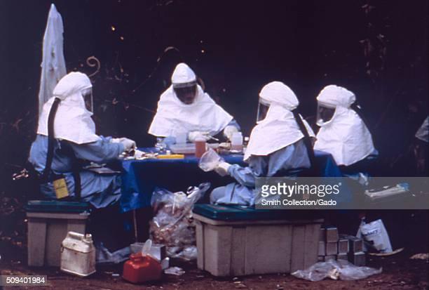 Ebola Testing Image courtesy CDC 1990