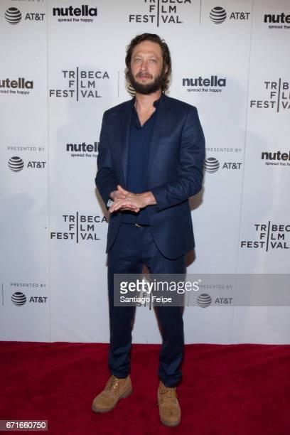 Ebon Moss-Bachrach attends 2017 Tribeca Film Festival at Regal Battery Park Cinemas on April 22, 2017 in New York City.