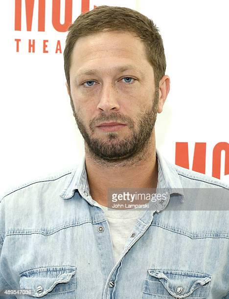 """Ebon Moss-Bachrach attends """"Lost Girls"""" Cast Photo Call at MTC Rehearsal Studios on September 22, 2015 in New York City."""