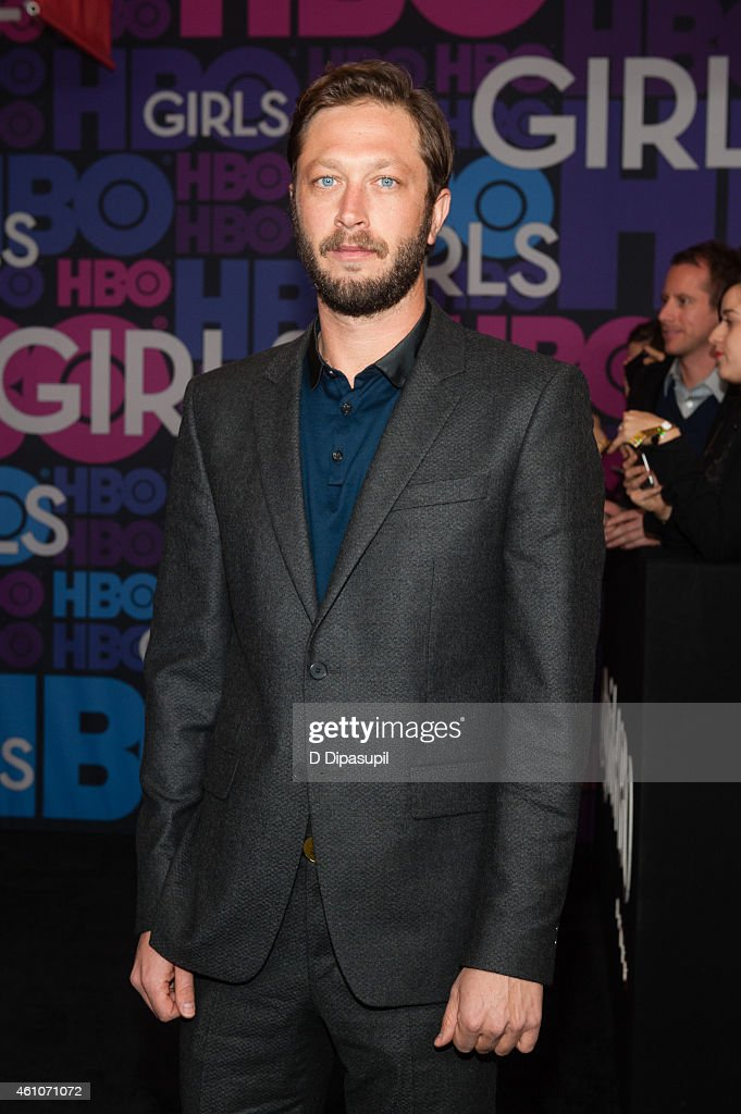 Ebon Moss-Bachrach attends the 'Girls' Season Four Premiere at the American Museum of Natural History on January 5, 2015 in New York City.