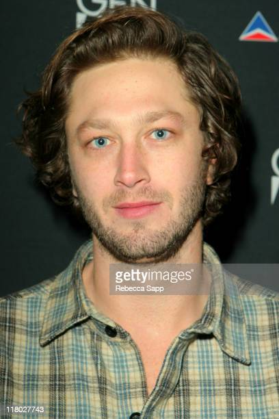 """Ebon Moss-Bachrach during 2007 Sundance Film Festival - """"High Falls"""" Party at the Delta Sky Lodge at Delta Sky Lounge in Park City, Utah, United..."""