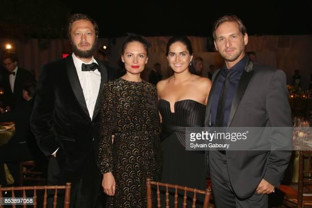 Ebon MossBachrach Yelena Yemchuk Jessica Ciencin Henriquez and Josh Lucas attend Metropolitan Opera Opening Night Gala at Lincoln Center on September...