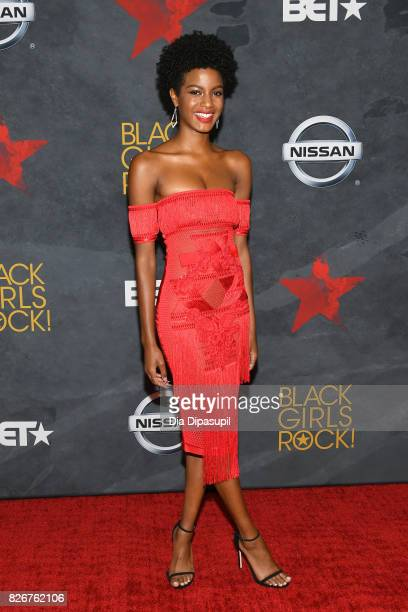 Ebonee Davis attends Black Girls Rock 2017 at NJPAC on August 5 2017 in Newark New Jersey